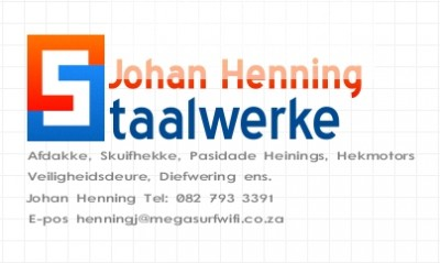 Johan Henning Staalwerke