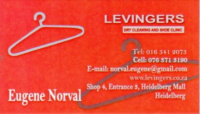 Levingers Dry Cleaners and Shoe Clinic