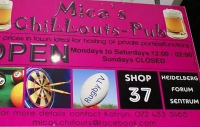 Mica's Chillouts Pub