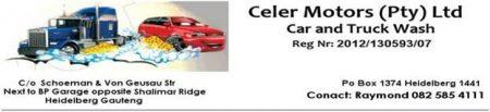 Celer Motors (PTY) Ltd & Carwash