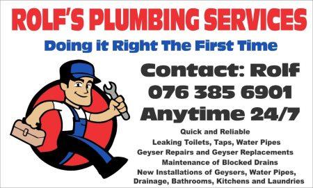 Rolf's Plumbing Services